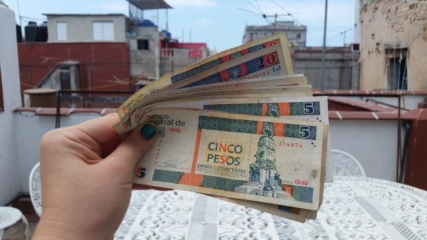 Cuban Currency CUC Havana Cuba