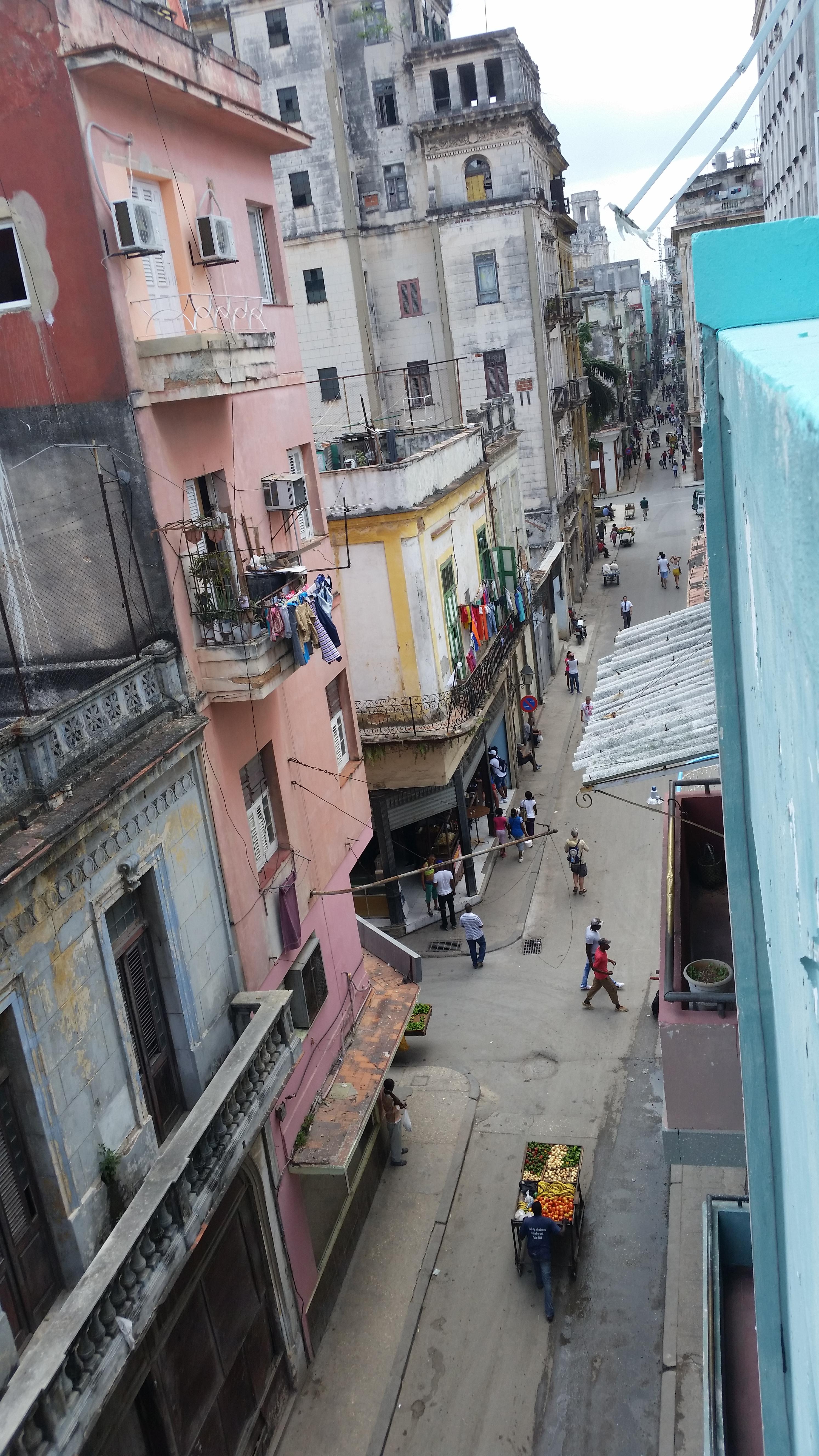 Lamparilla Street Havana Cuba
