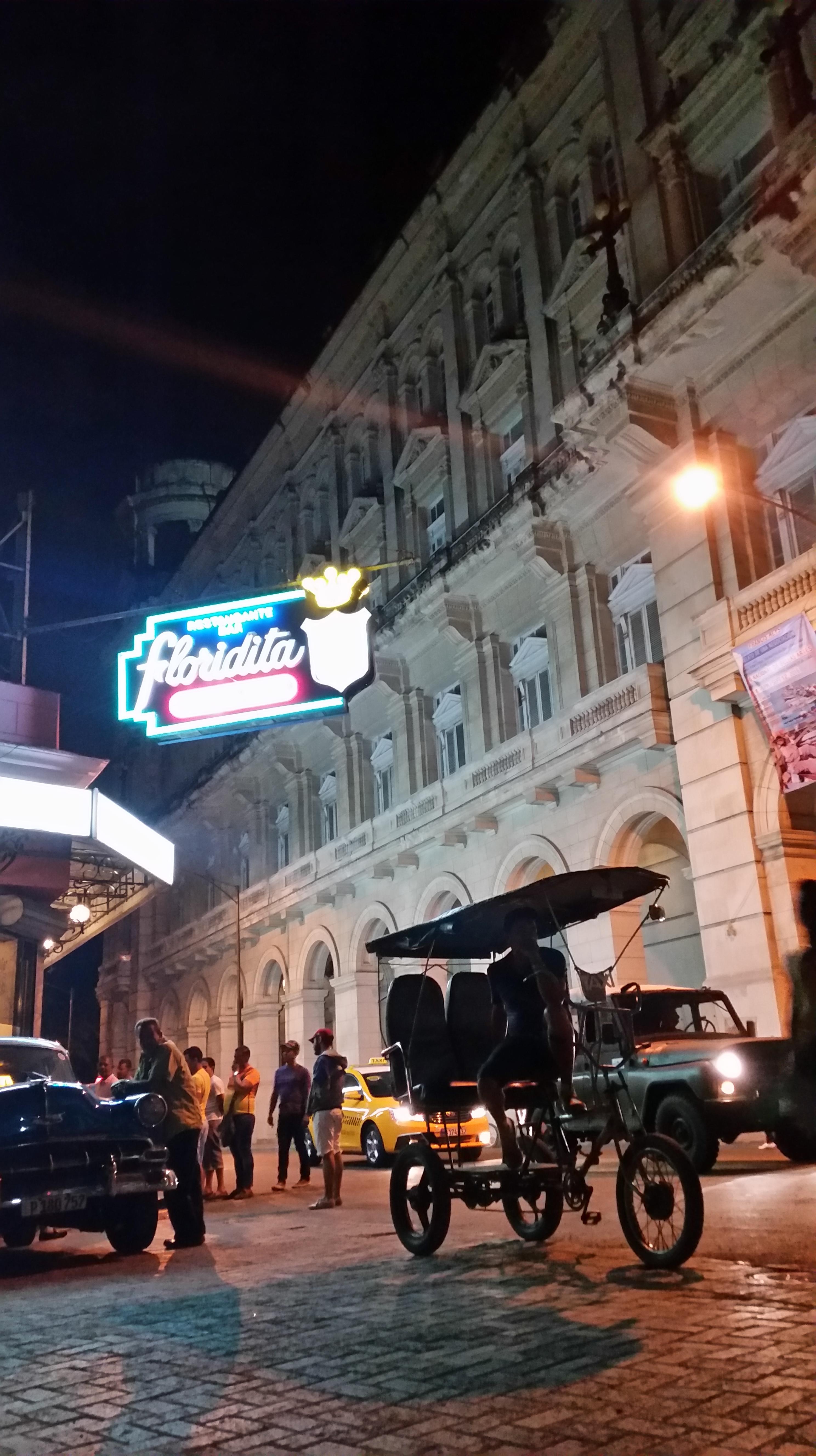 Floridita Wifi Hot Spot Havana Cuba