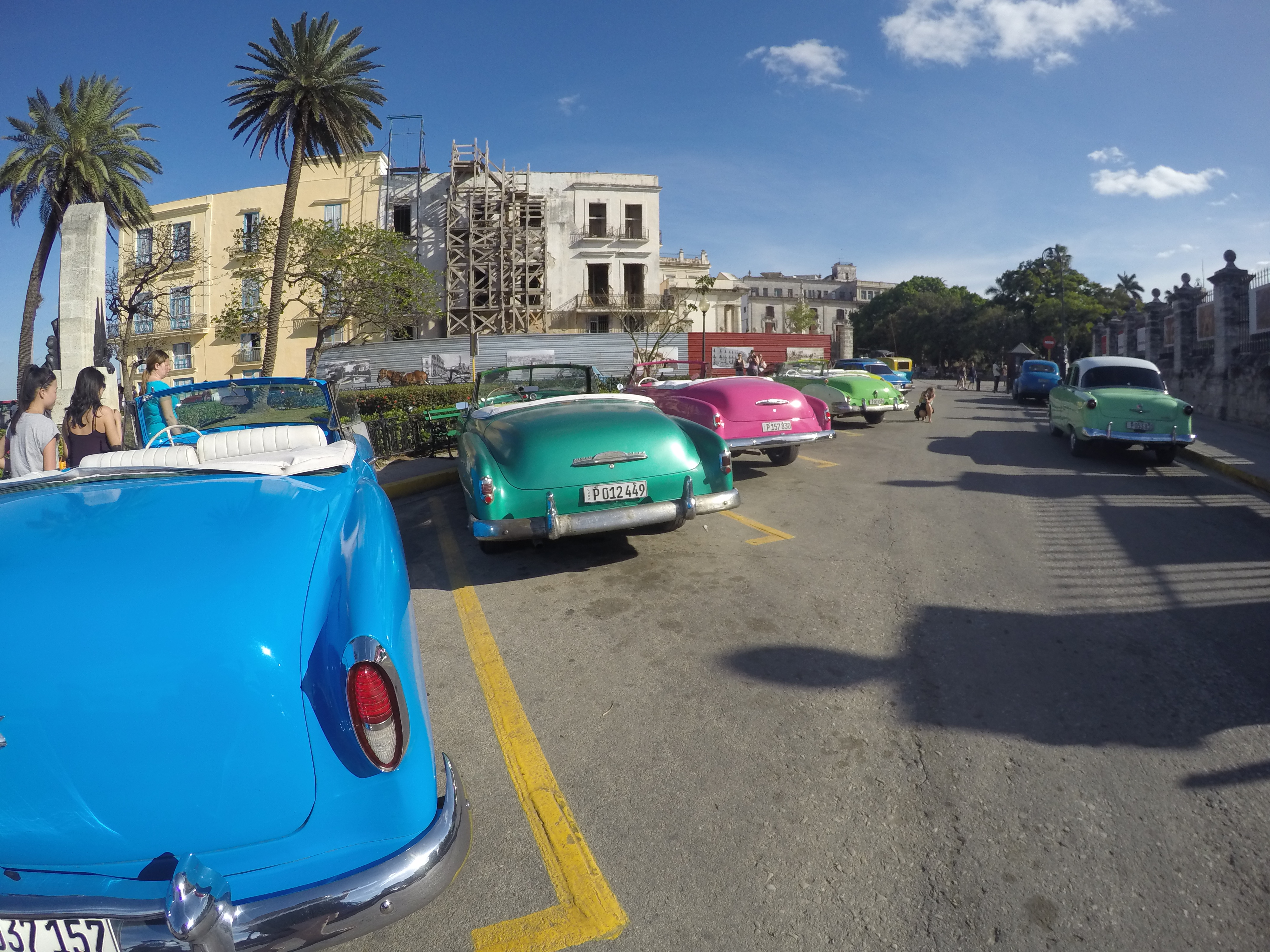 Colorful Classic Cars Havana Cuba