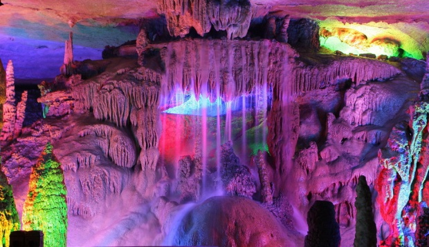 Reed Flute Cave, China tourism destinations