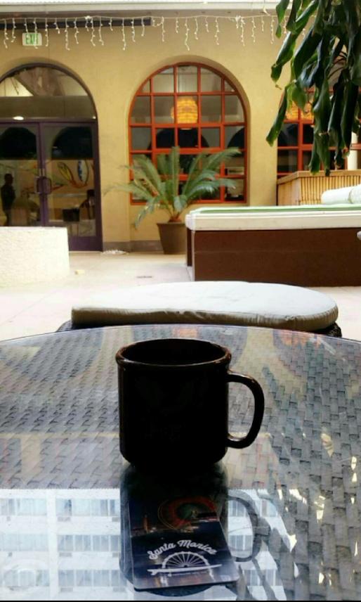 Breakfast at HI Los Angeles, Santa Monica