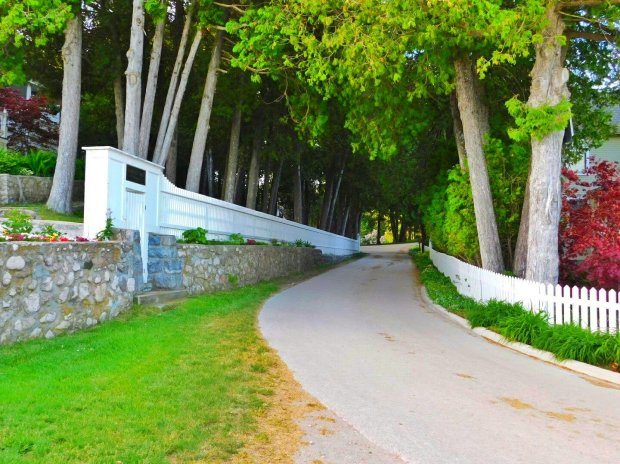 Poopy roads on Mackinac Island
