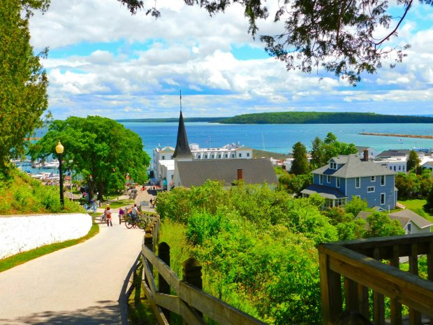 Fort Hill, Mackinac Island, Michigan