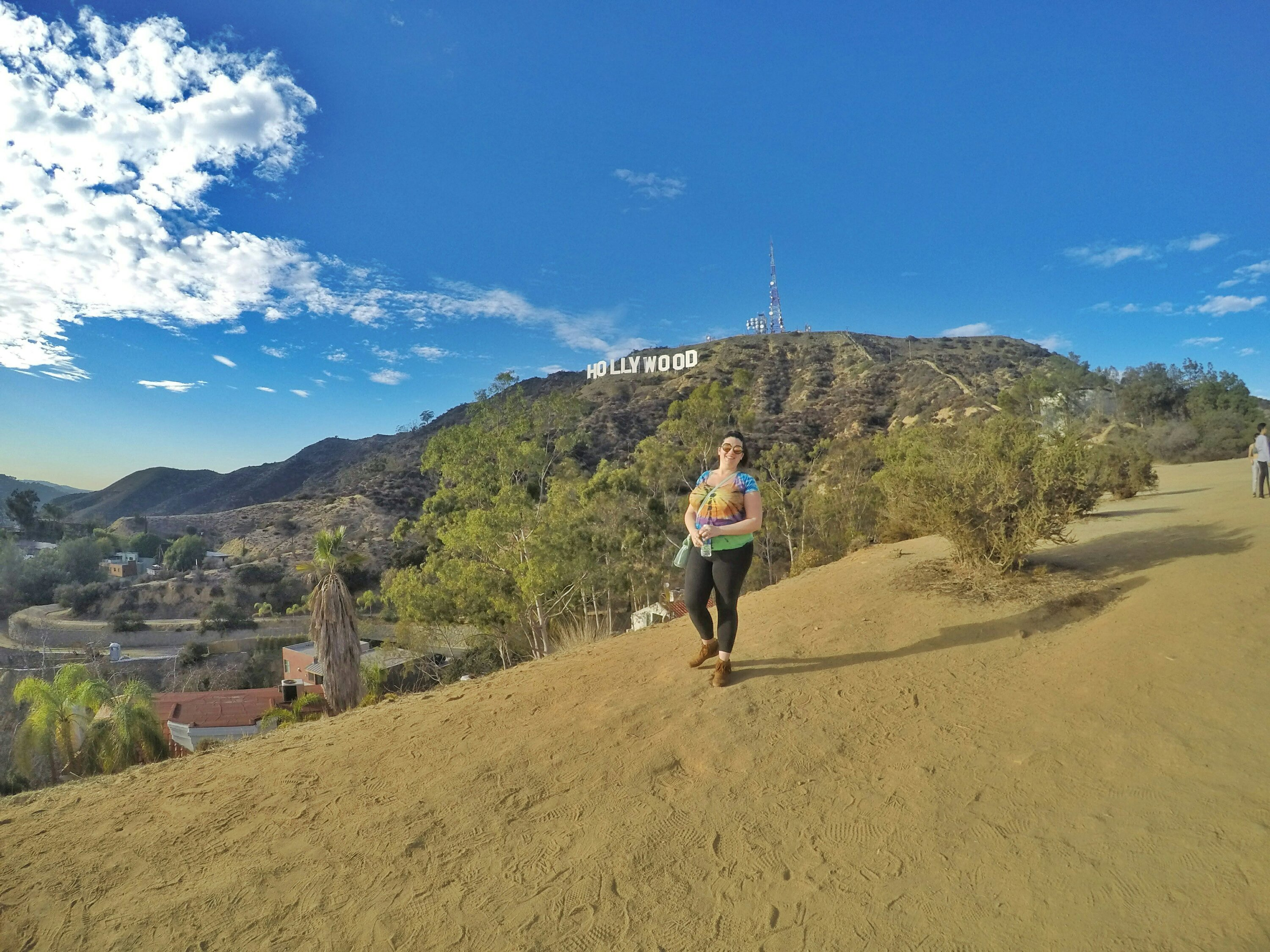Hiked to Hollywood Sign