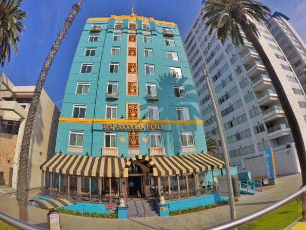 The Georgian Hotel in Santa Monica, California
