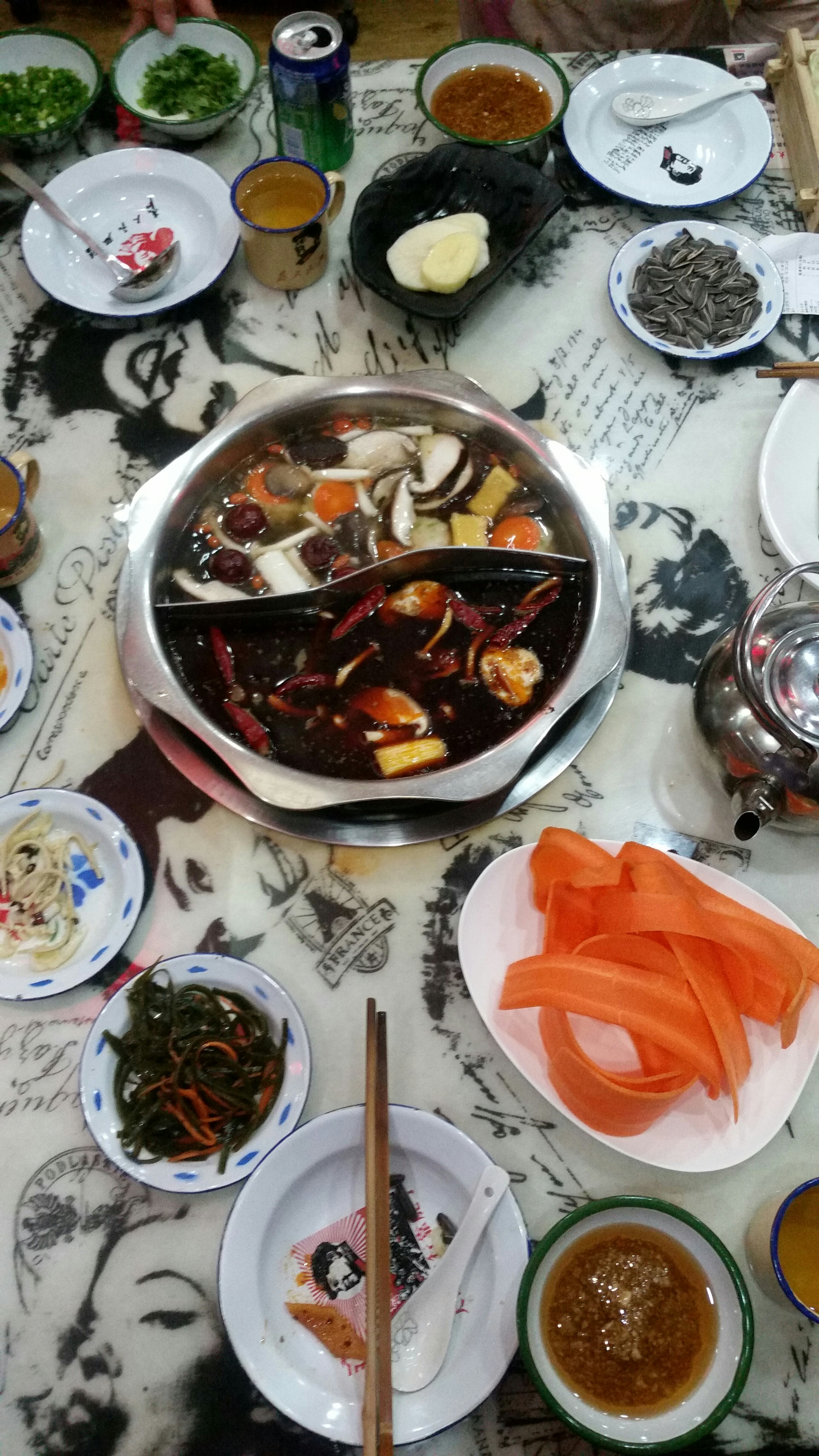 Hot Pot Restaurant in Beijing