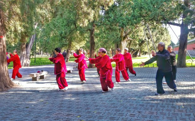 Tai Chi at Temple of Heaven - Beijing, China