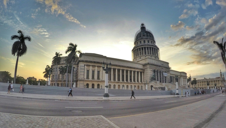Capital Building in Havana