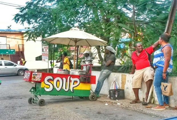 Soup Cart - Hopewell, Hanover, Jamaica