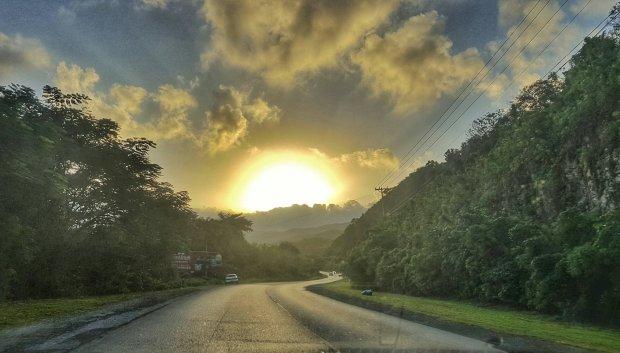 Sunrise at Tamarind Hill, Hanover, Jamaica