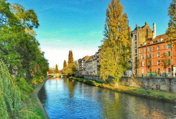 River Ill from Grand Rue - Strasbourg, France