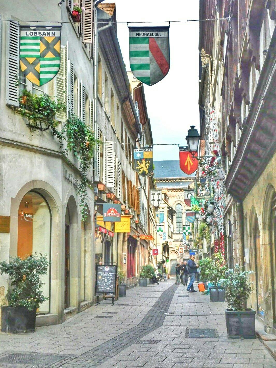 Rue des Ofevres - Strasbourg, France