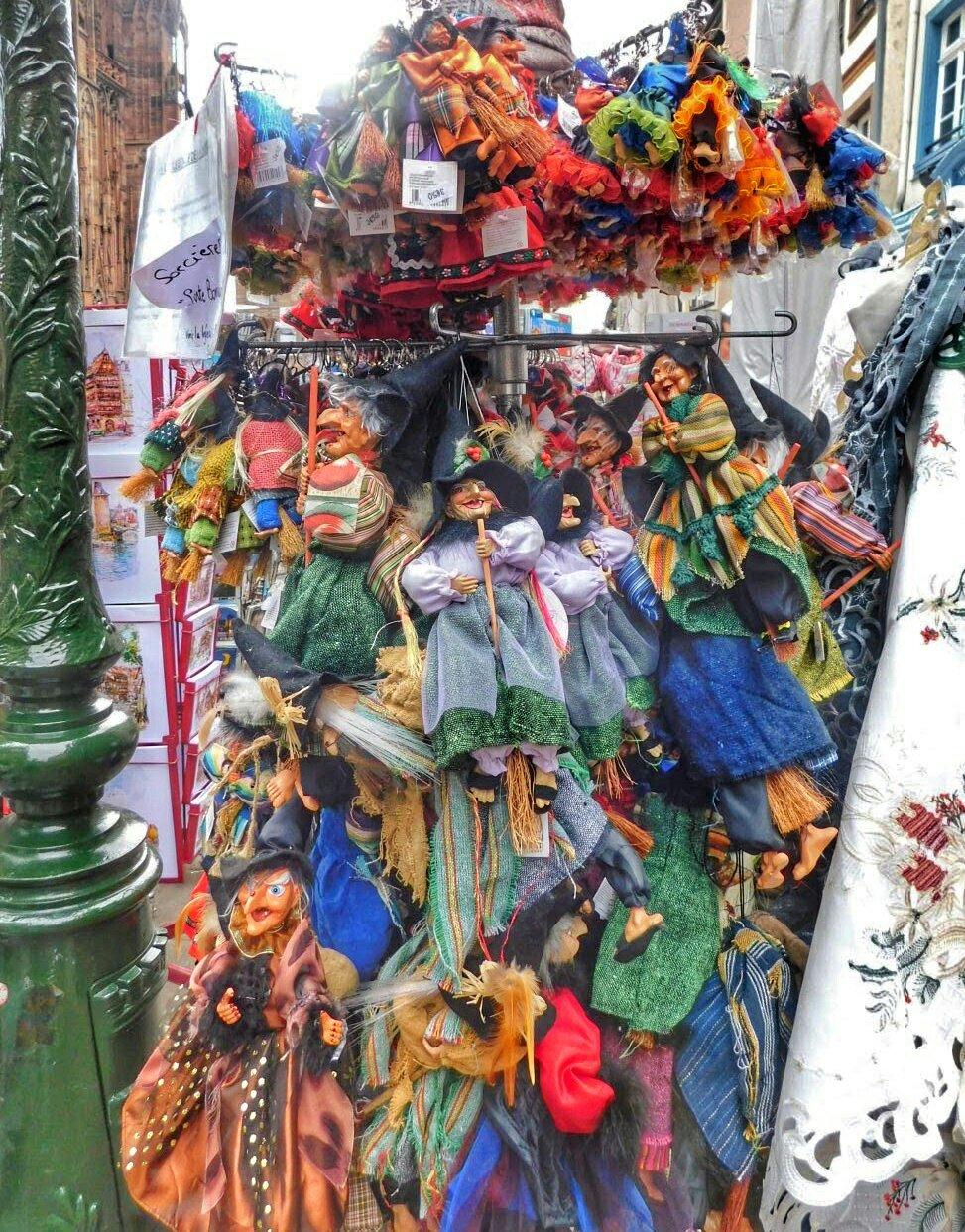 Market at Place de la Cathedral - Strasbourg, France