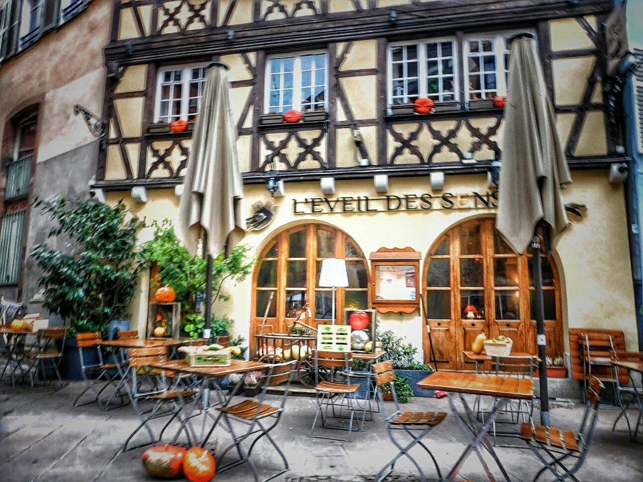 Cafe - Strasbourg, France