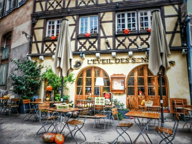 Cafe - Strasbourg, France