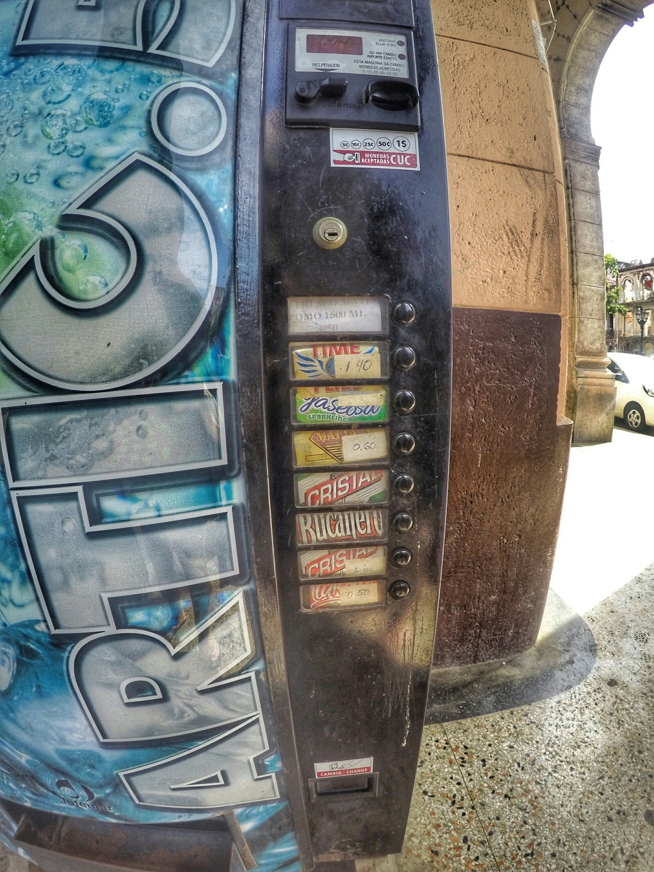 Beer vending machine - Havana, Cuba