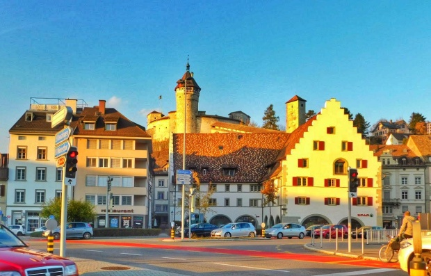 City streets of Schaufhaussen