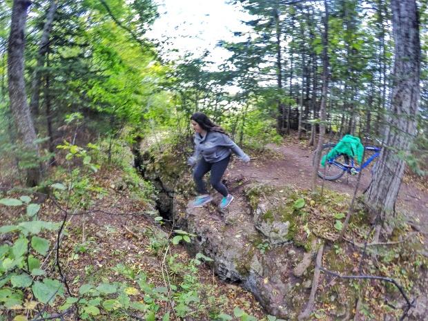 Crack in the Island - Mackinac Island