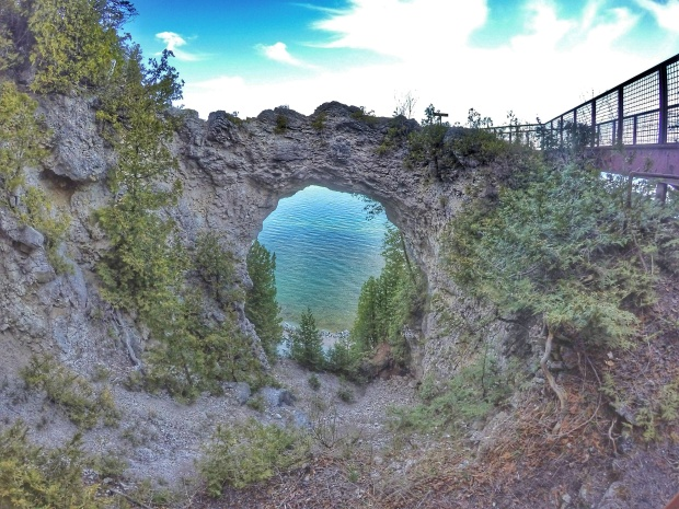 Arch Rock, Mackinac Island