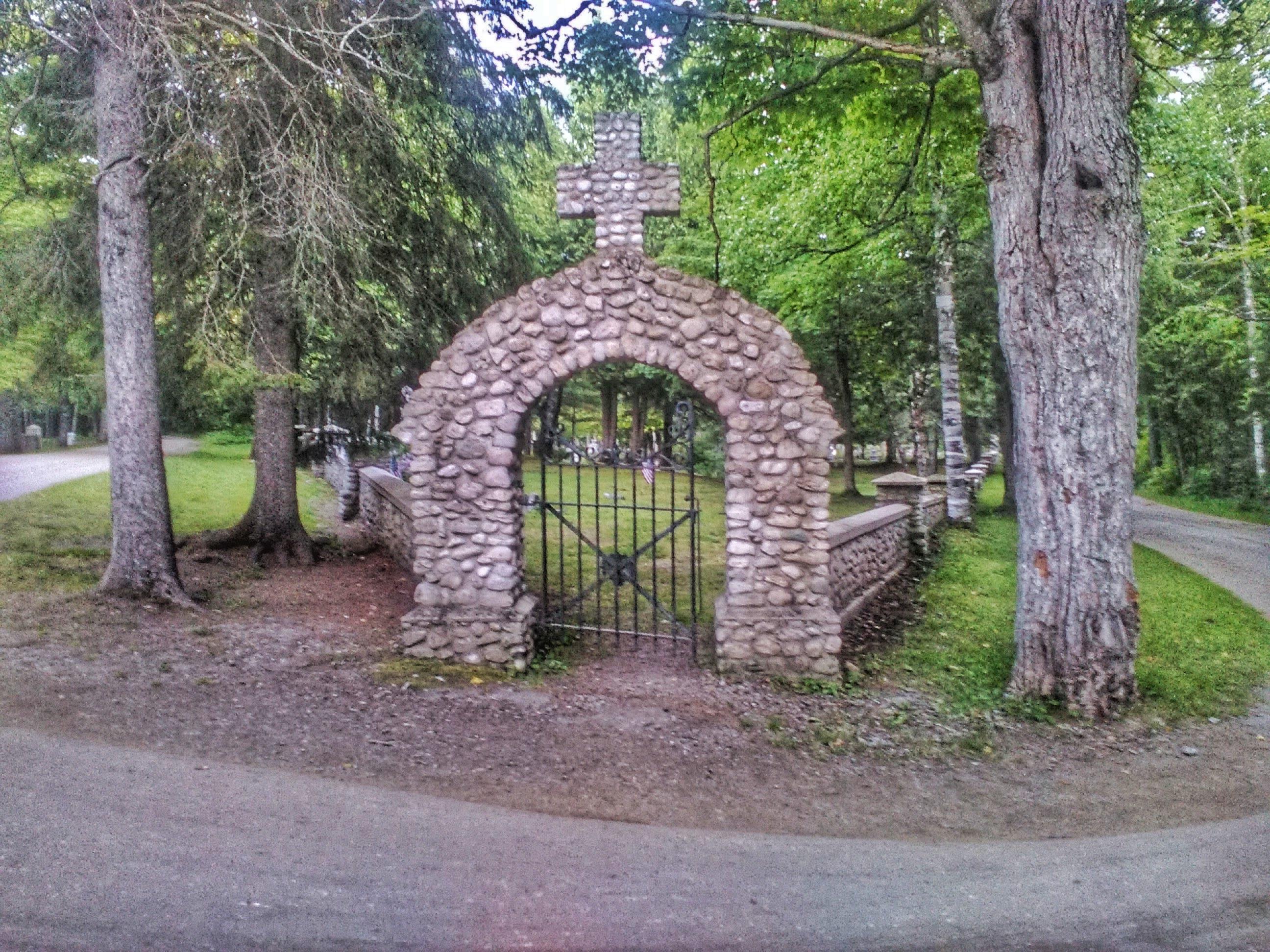 St. Anne's Cemetery - Mackinac Island