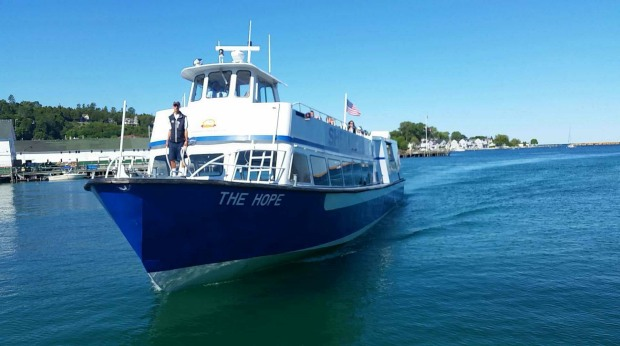 Sheplers Ferry on Mackinac Island