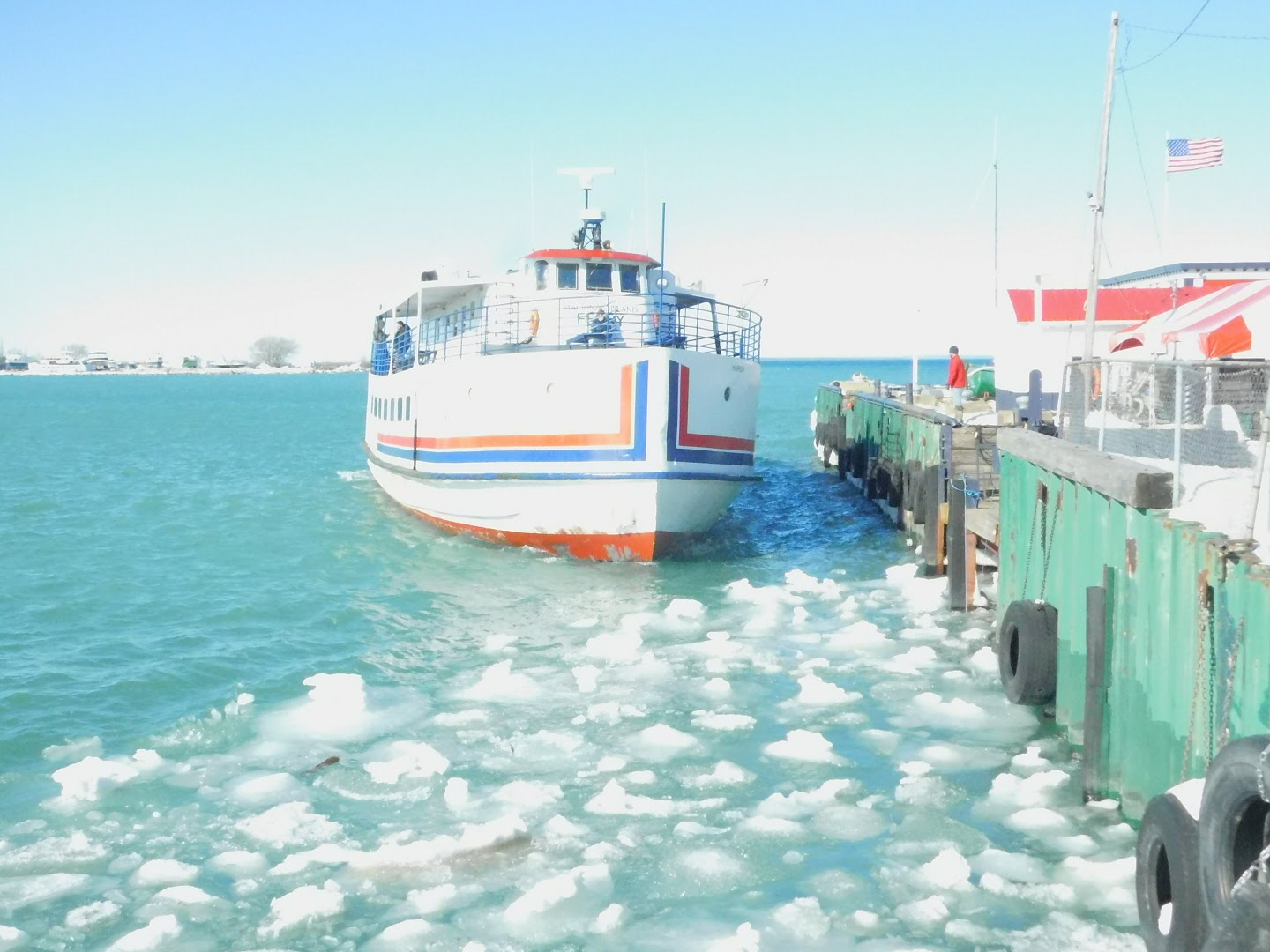 Spring Ferry in St. Ignace
