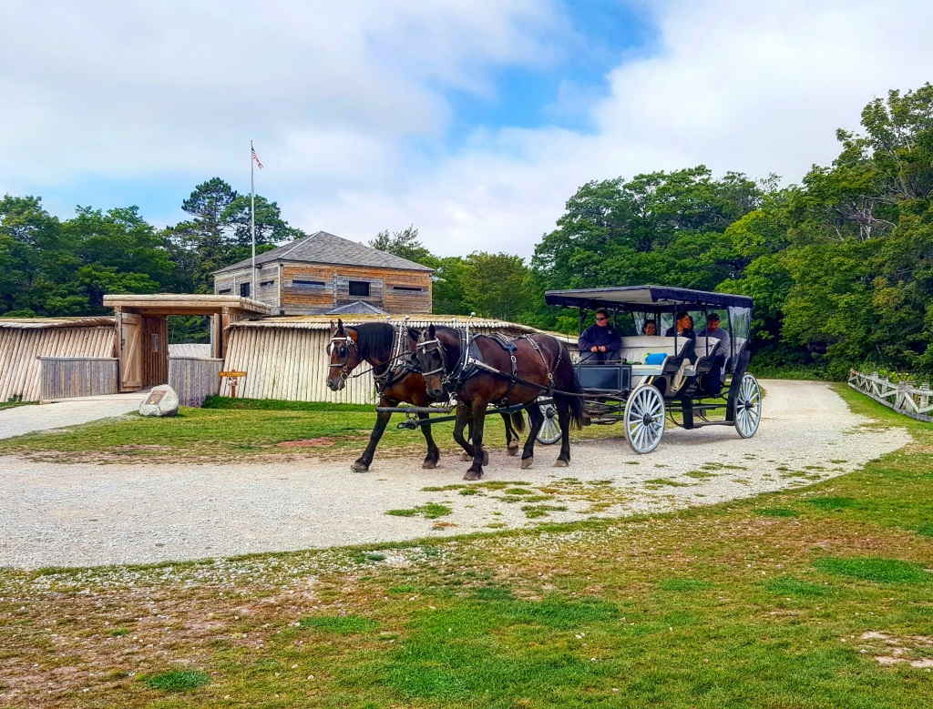 Horse Carriage at Fort Holmes
